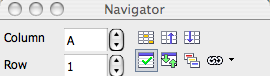 Navigator Toolbar in Calc