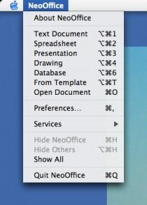 neooffice screenshots - neowiki, Presentation templates